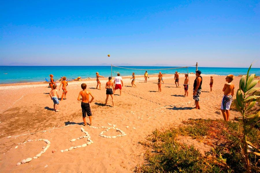 Grecja Rodos Theologos Doreta Beach