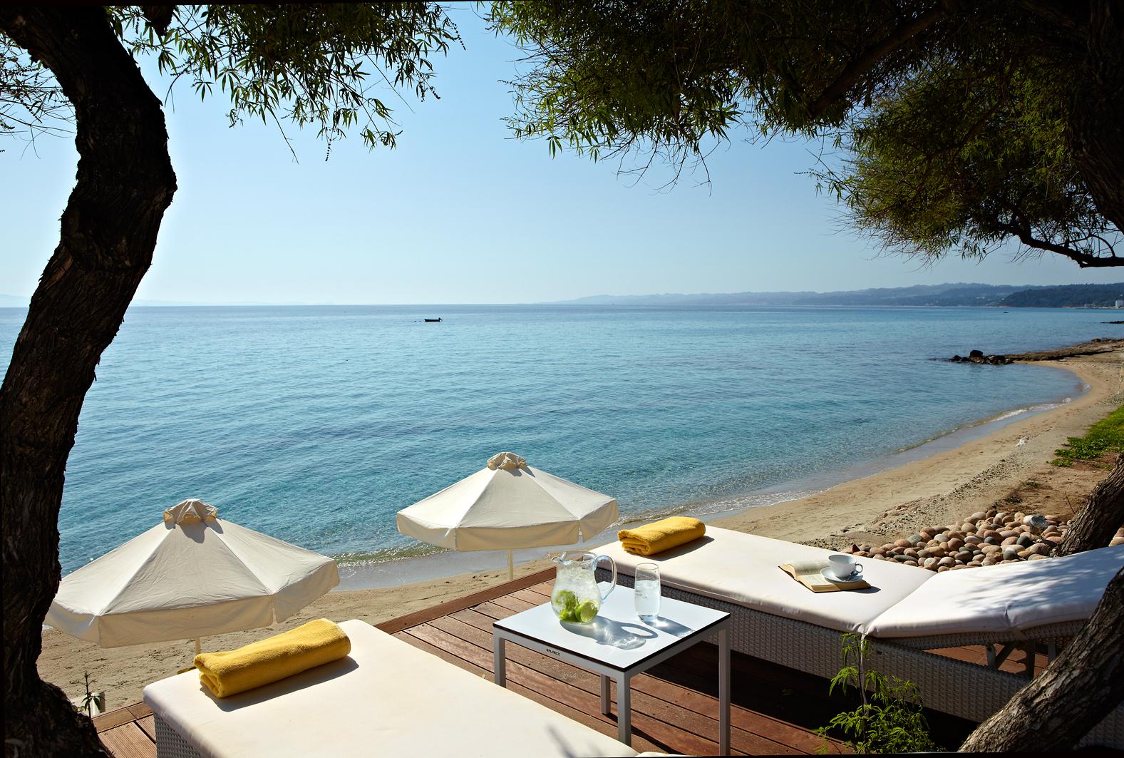 Hotel afitis chalkidiki grecja for Design boutique hotels chalkidiki