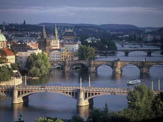 Czechy Praga Praga Festiwal Światła