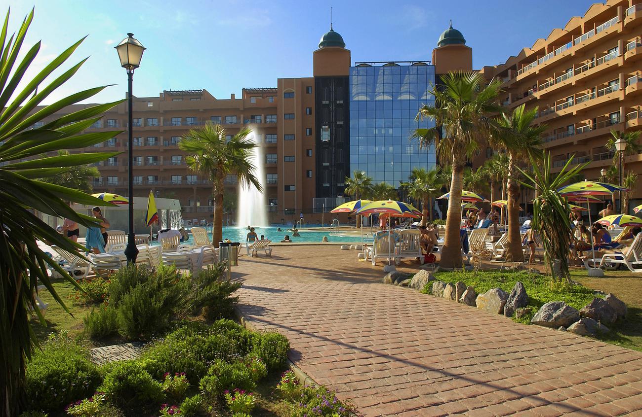 Hotel ath las salinas park andaluzja costa almeria Aquarium en roquetas de mar
