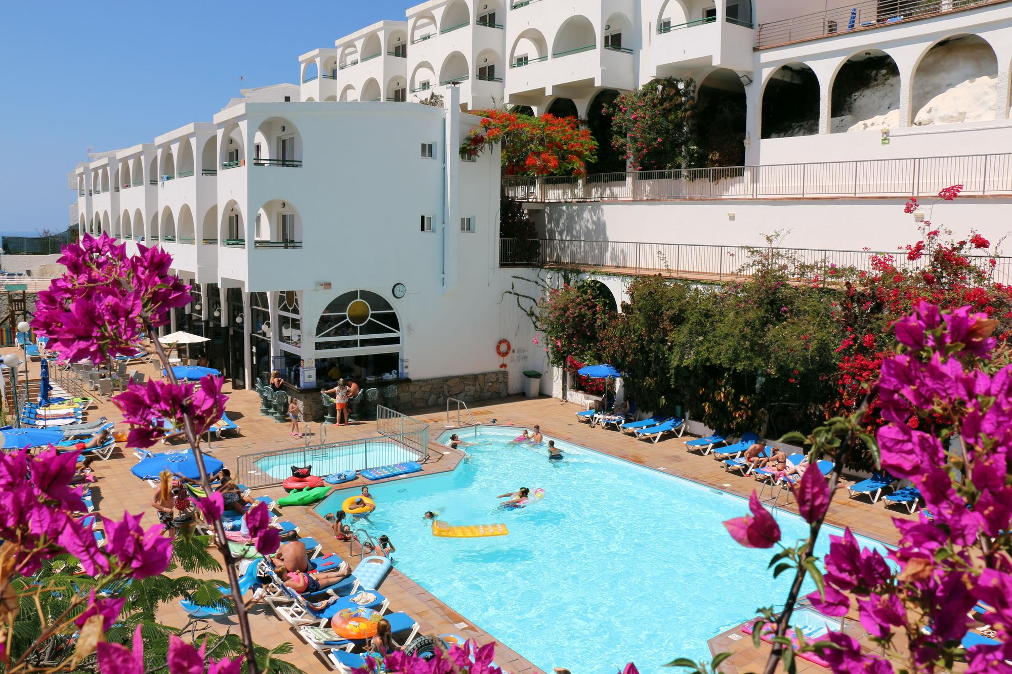 Hotel colina mar aparthotel gran canaria hiszpania - Apartamentos puerto rico las palmas ...