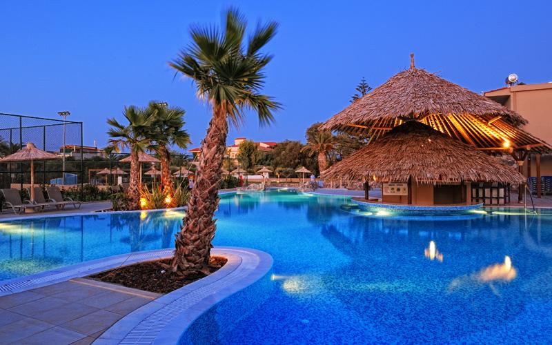Hotel Aphrodite Beach Club Apollo Kreta Grecja