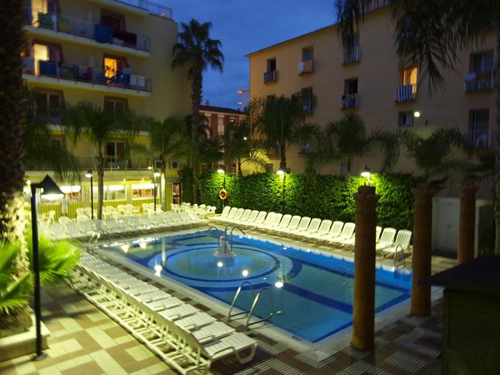 hotel cleopatra spa costa brava hiszpania