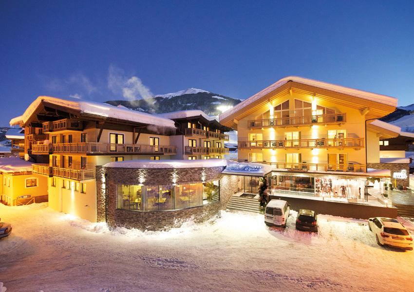 Austria Ziemia Salzburska Hinterglemm Alpina