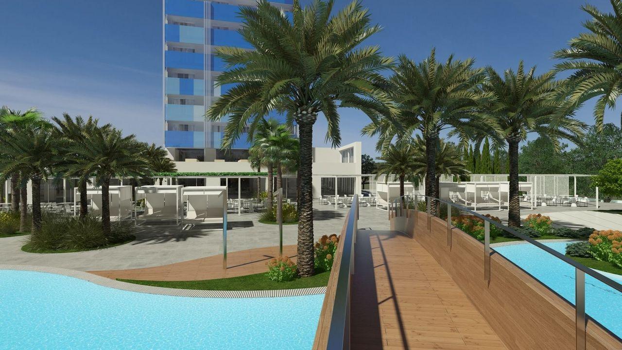 Hotel bg tonga design suites tower majorka hiszpania for Design hotel mallorca