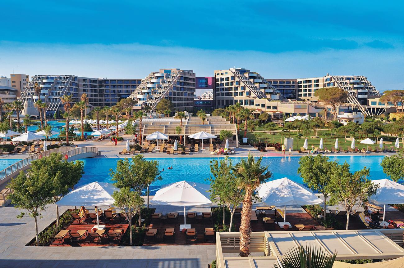Hotel susesi luxury resort belek turcja for Designer hotels turkei
