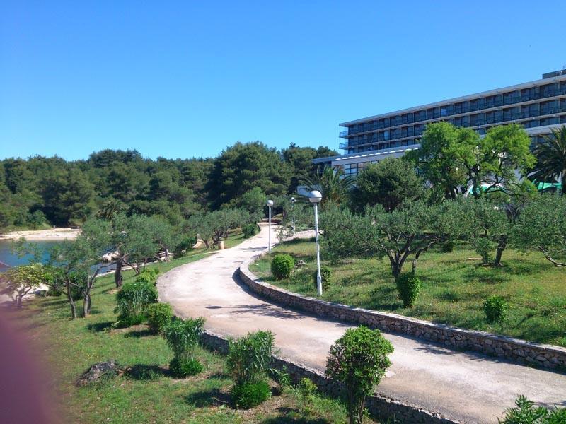 Chorwacja Wyspa Hvar Stari Grad Arkada