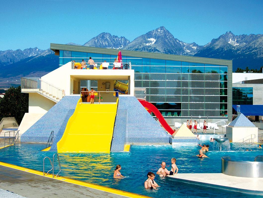 Słowacja Preszów Poprad Aquacity Seasons