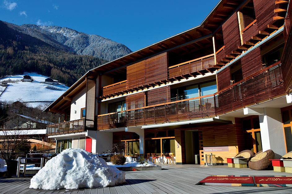 Hotel designhotel feldmilla po udniowy tyrol w ochy for Designhotel feldmilla