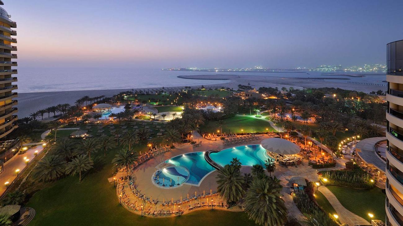 Emiraty Arabskie Dubaj Dubaj Le Royal Meridien Beach Resort