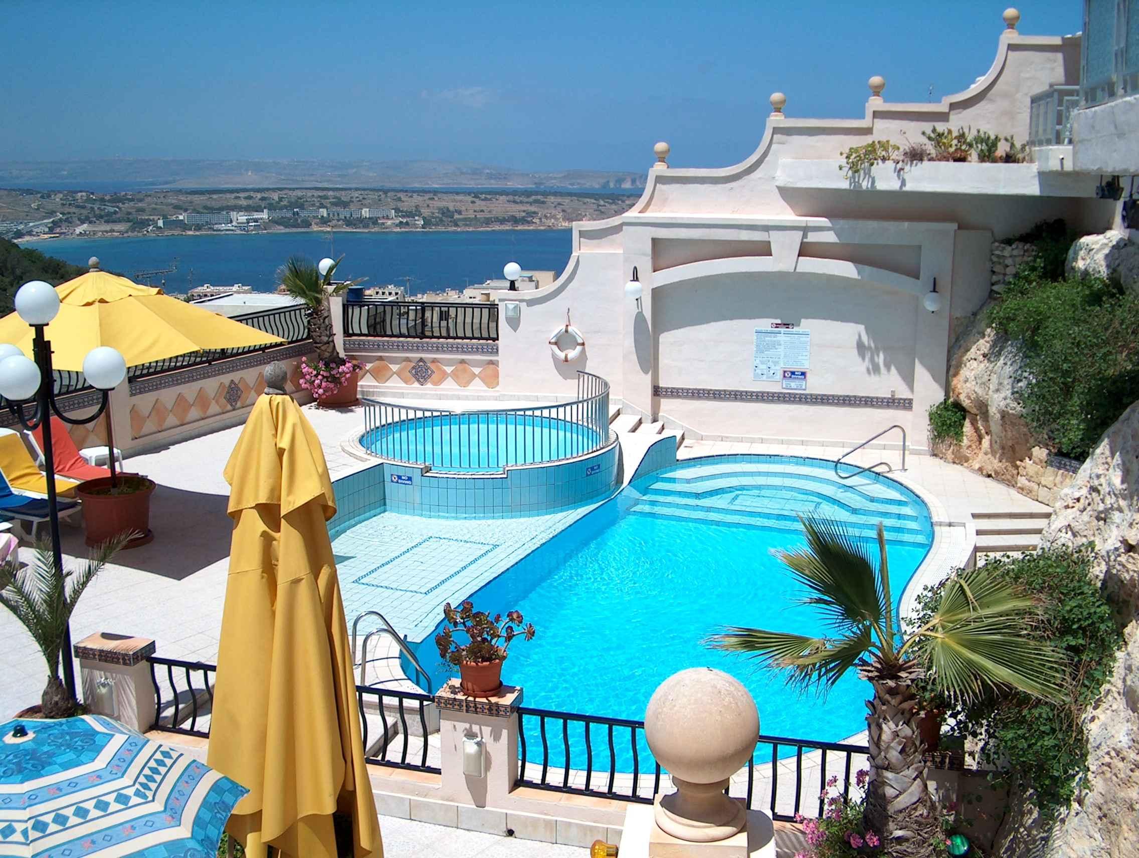 hotel pergola spa wyspa malta malta