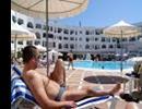 Hotel Yasmine Beach Resort - Basen na tarasie