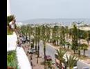 Hotel Yasmine Beach Resort - Widok z tarasu