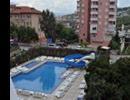 Hotel Blue Star - Widok z balkonu na basen hotelu Blue Star