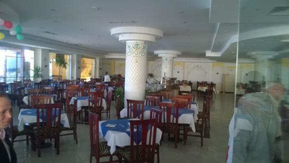 Restauracja w hotelu Blue Reef Resort
